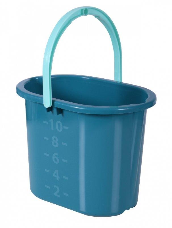 Ведро для мытья полов HAUSMANN 10л, зеленое