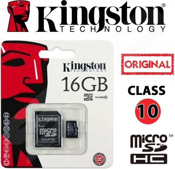Карта памяти Kingston SDC10G2 microSD 16GB Class 10