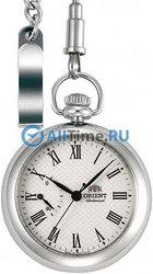 Мужские японские механические карманные часы Orient DD00002W