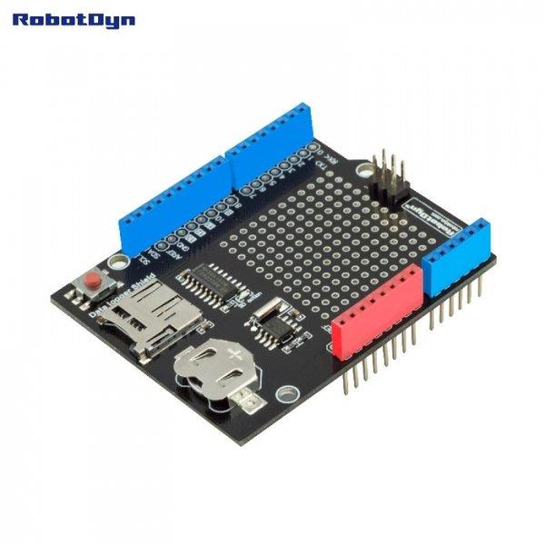Сенсорная плата расширения для Arduino UNO с Micro ридером SD-карт