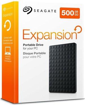 "Жесткие диски и сетевые накопители Seagate Expansion 500GB USB 3.0/2,5"" Black"