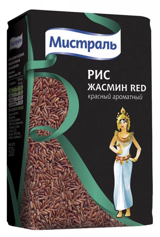 Рис Мистраль Жасмин Red, 500 г