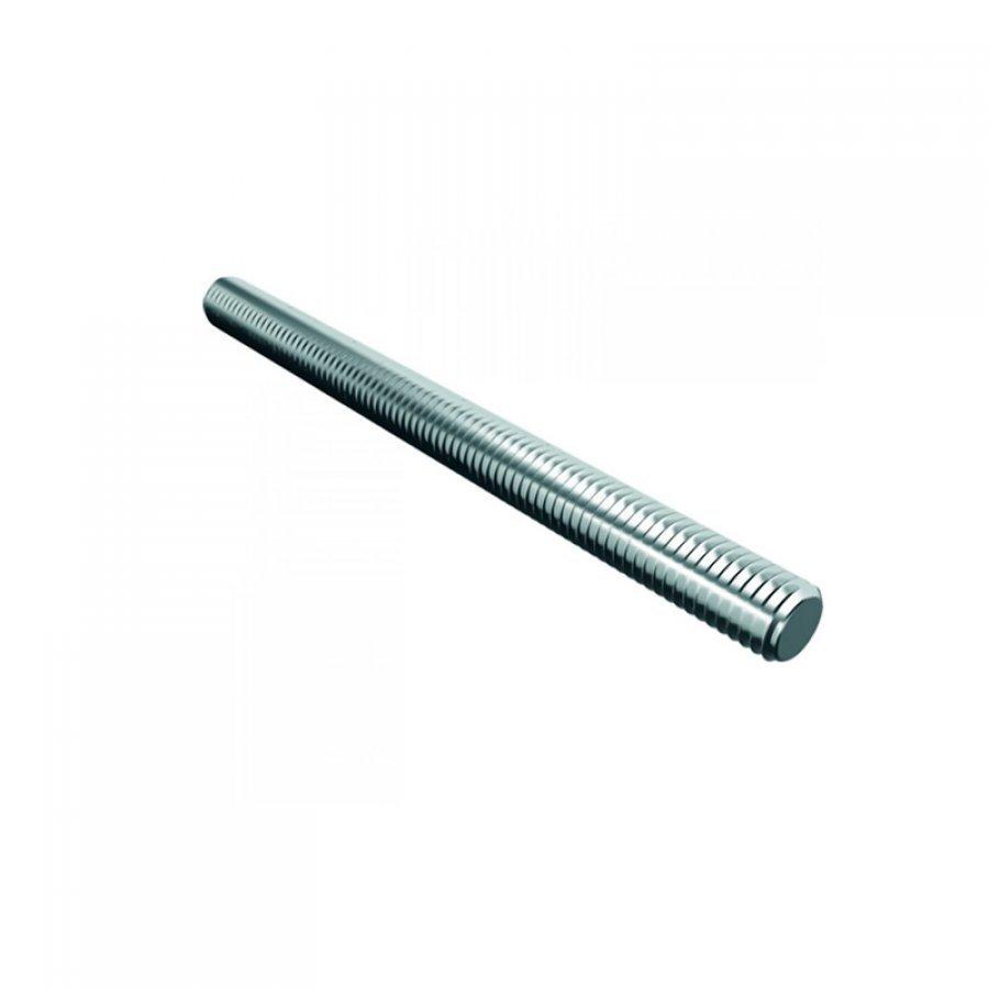 Шпилька размер M12х1000 мм резьбовая DIN 975 стальная оцинкованная строительная с полной резьбой