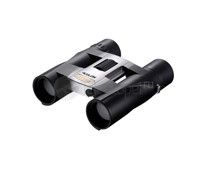 Бинокль Nikon Aculon A30 10x25 silver