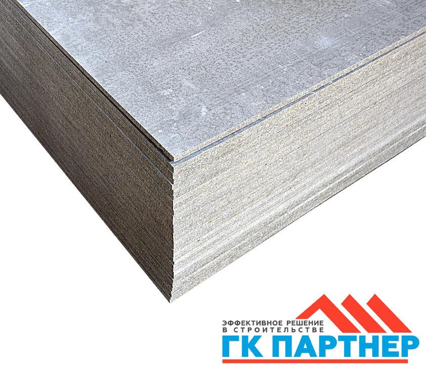 Цементно-стружечная плита (ЦСП I) 500х1250х10 мм