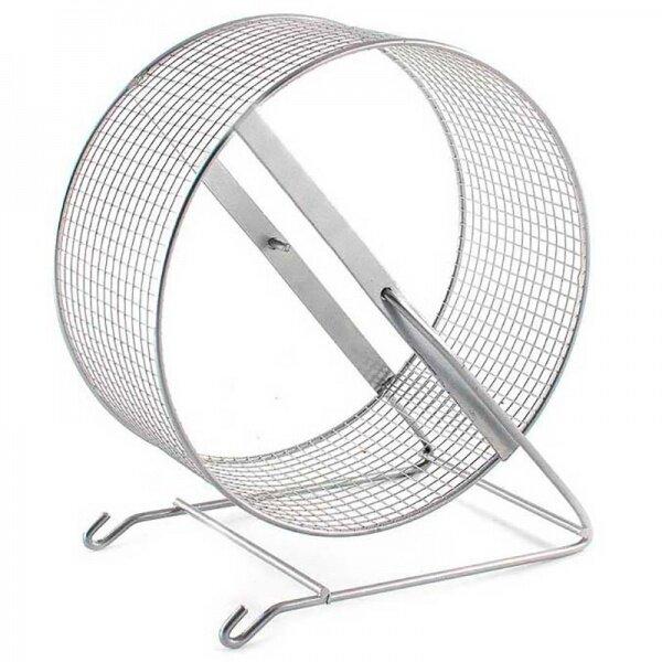 Дарэлл Колесо для грызунов с подставкой металл сетка (D140 мм)