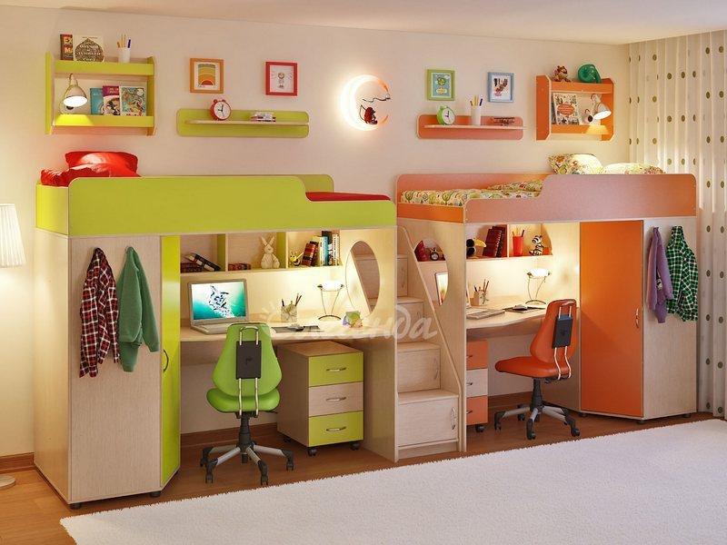 Детская комната Легенда 14 80х190 см
