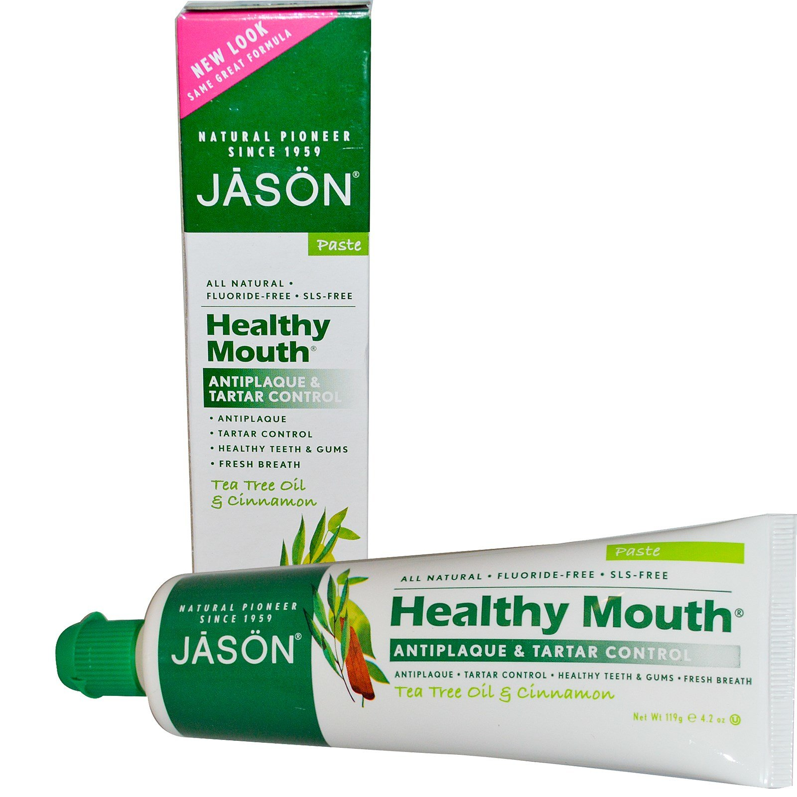 Зубная паста Jason Natural Cosmetics