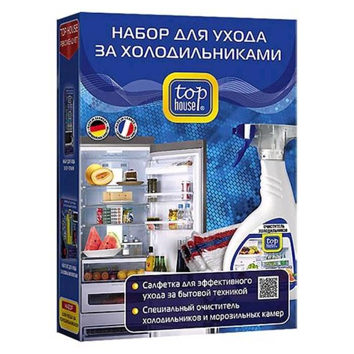 Ч/м средство Top House 390513 Набор для ухода за холодильниками, 2 предмета