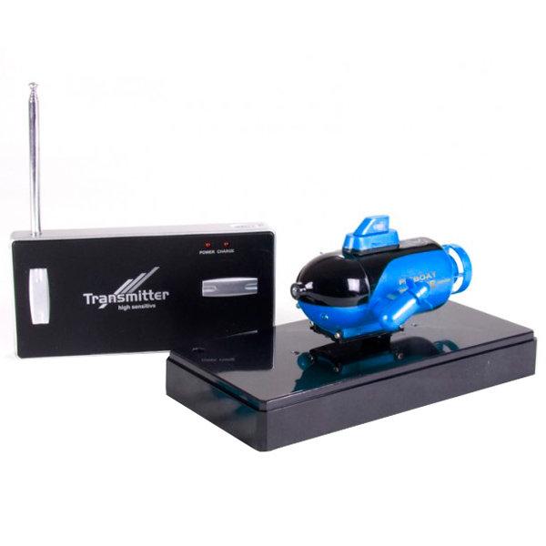 Радиоуправляемый катер Pilotage подводная лодка Mini Submarine, синяя (RC13508)