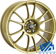 Диски OZ Racing Ultraleggera 7.5x18 5/100 ET48 d68 Gold - фото 1