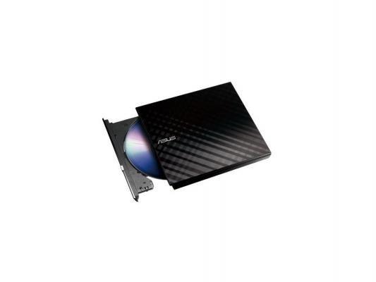 Оптический привод Оптический привод DVD±RW Asus SDRW-08D2S-U Lite Slim Black