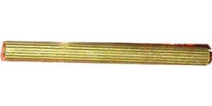 Трубка с узкой полосой D20 (3м), латунь, RIG 20 ГусевЪ
