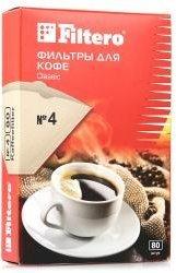 Аксессуар к кофеваркам Filtero №4/80 коричневые