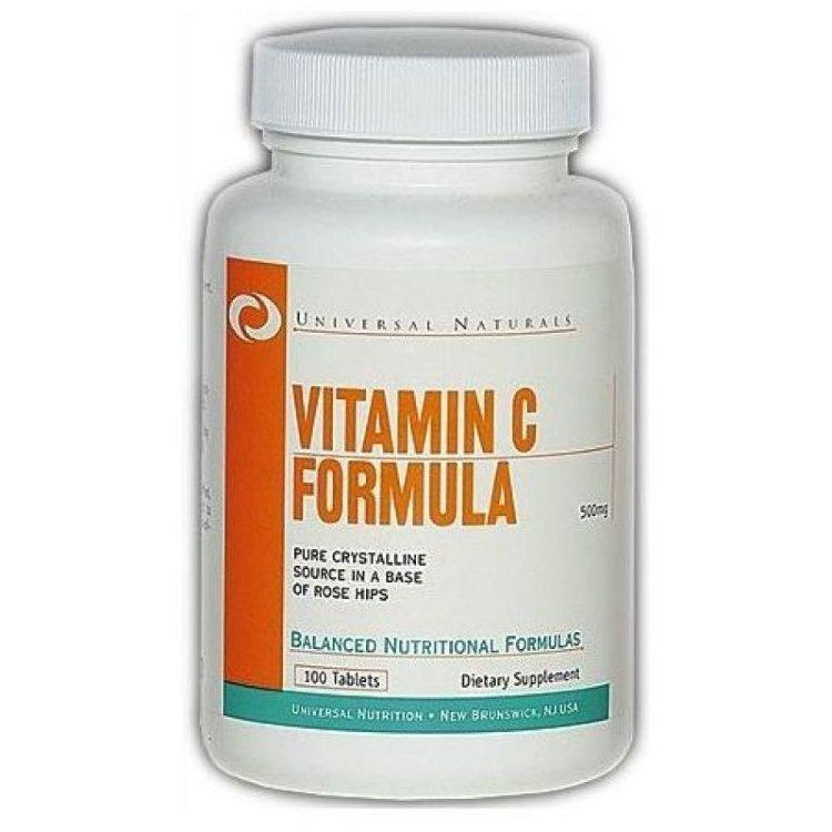 Vitamin C Formula Universal Nutrition (100 таб.)