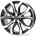 Колесные литые диски Alutec W10 Black 8x18 5x130 ET53 D71.5 Racing Black Front Polished (W10X-80853V93-5) - фото 1