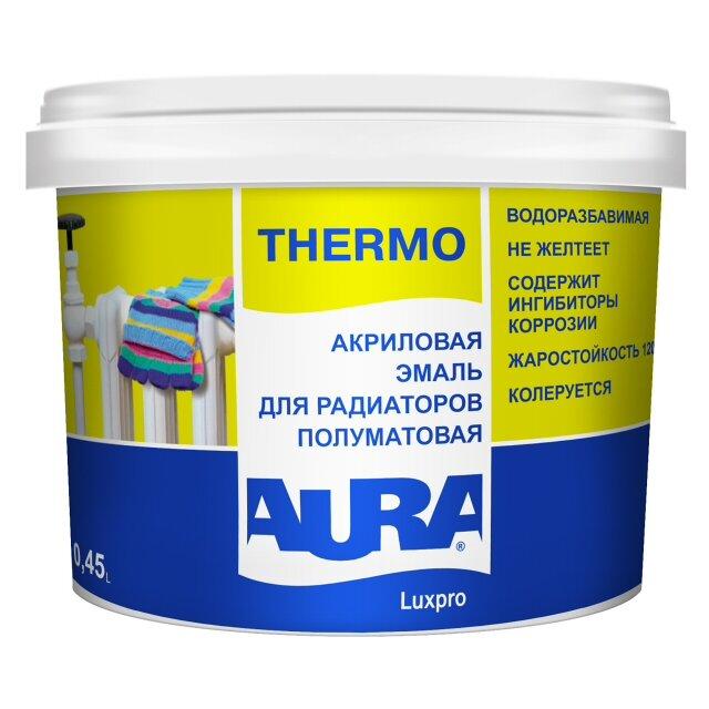 эмаль акриловая AURA LuxproThermo 0,45л, арт.4607003911218