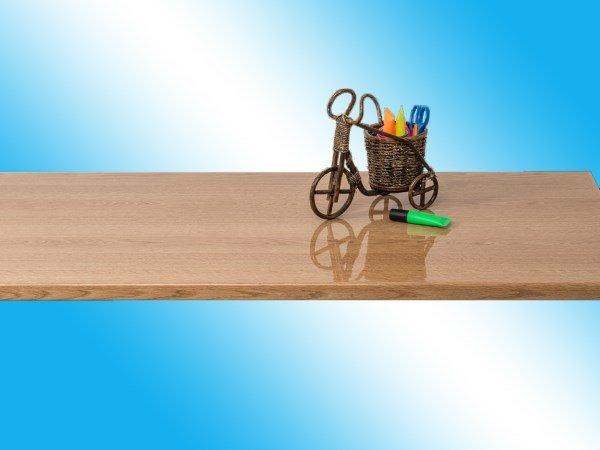 Подоконник пластиковый Мёллер (Мюллер) - Светлый дуб глянец Moeller LD-S 30