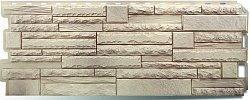 Фасадная панель (цокольный сайдинг) Альта-Профиль Скалистый камень Алтай