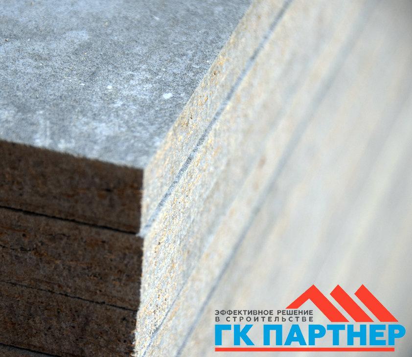 Цементно-стружечная плита (ЦСП I) полосы