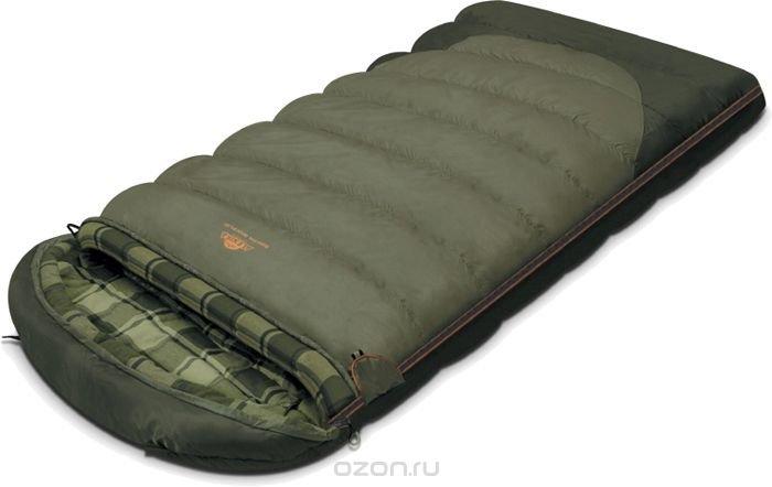 """Спальный мешок-одеяло Alexika """"Siberia Wide Plus"""", цвет: серый, правосторонняя молния. 9254.01071"""