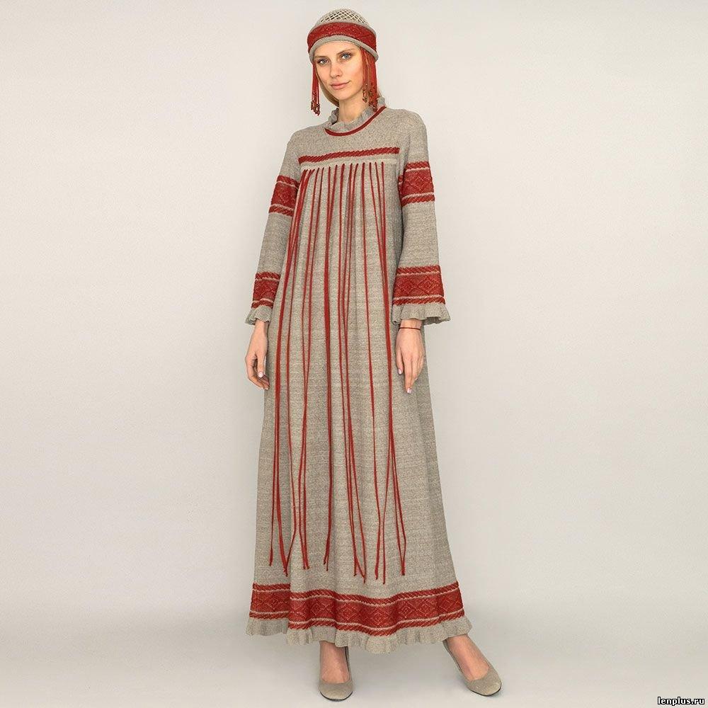 Льняные платья, сарафаны, туники для полных женщин — натуральная и стильная находка