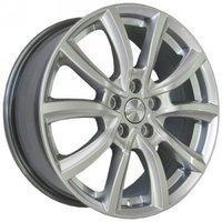 Колесные литые диски SKAD (СКАД) Онтарио 7x17 5x114.3 ET40 D66.1 алмаз белый (1820224)