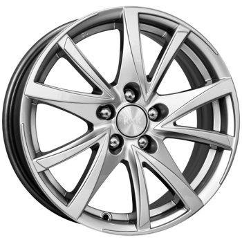 Колесные литые диски КиК (K&K) Игуана 6.5x15 4x100 ET45 D67.1 дарк платинум (71650)