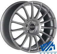 Диски OZ Racing Superturismo LM 7.5x17 5/120 ET47 d79 MattRaceSilver+BlackLette - фото 1