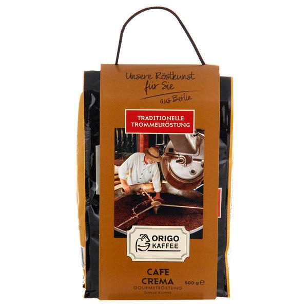 Кофе в зернах ORIGO Kaffee Cafe Crema Gourmetrostung 500g