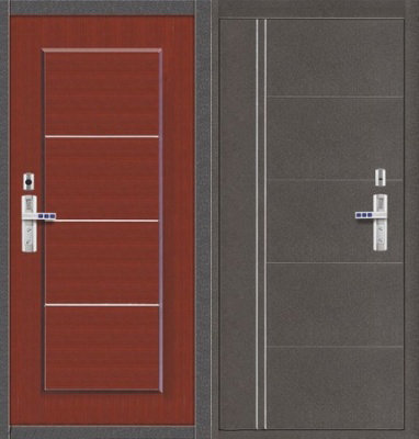 двери металлические входные щербинка
