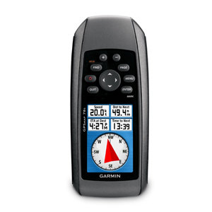 Garmin GPSMAP 78s Russia Эргономичный защищенный навигатор: высотомер, компас, беспроводная связь и microSD