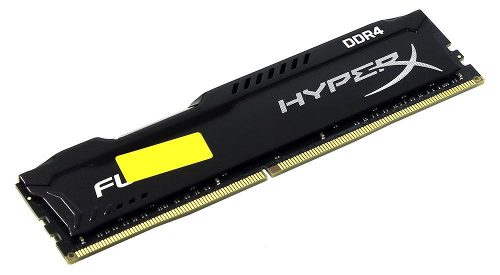 Модуль памяти Kingston HyperX Fury DDR4 DIMM 2133MHz PC4-17000 CL14 - 16Gb HX421C14FB/16