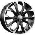 Литой диск КиК КС740 (Mazda CX-5) 7x17 5x114.3 ET50.0 D67.1 Алмаз Чёрный - фото 1
