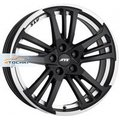 Диск ATS Prazision 7,5x17/5x115 ЕТ40 D70,2 Racing Black Double lip polished - фото 1