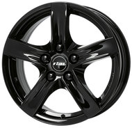 Колесные литые диски Rial Arktis Black 7.5x17 5x108 ET52 D63.4 Diamond Black (ARK75752F52-6) - фото 1