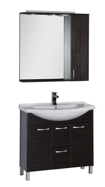 """Мебель для ванной Aquanet Донна 100 (цвет """"венге"""")"""