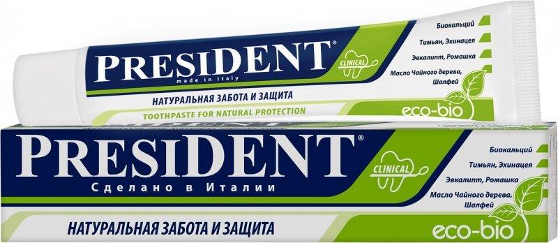 Зубная паста PresiDENT Eco