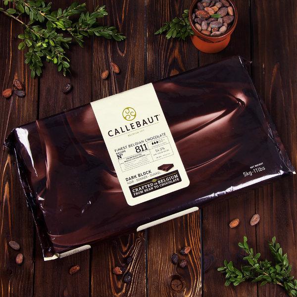 Тёмный шоколад Callebaut Select 53,8% (5 кг, блок)