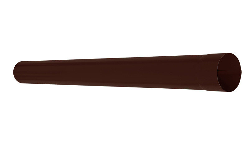 Водосток Аквасистем,система 90х125 -Труба водосточная 3 м RAL 8017 (Коричневый)