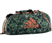 Сумка спортивная Combat Camo Bag M камуфляжно-оранжевая (размер M)