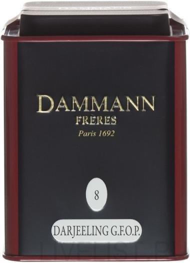 Чай черный Dammann N8 Дарджилинг G.F.O.P