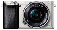 Цифровой фотоаппарат Sony Alpha ILCE-6000 Kit 16-50 PZ серебристый