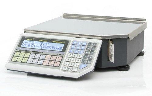 Весы с печатью этикеток ШТРИХ-м Штрих-принт ФI15-2.5 Д2 (H) (v.4.5)