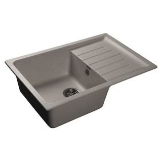 Кухонная мойка GranFest Practic GF-P760L серый (310)