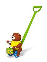 Барабанщик, детская игрушка каталка Stellar 01377