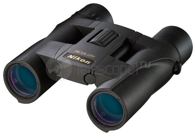Бинокль Nikon Aculon A30 10x25 black