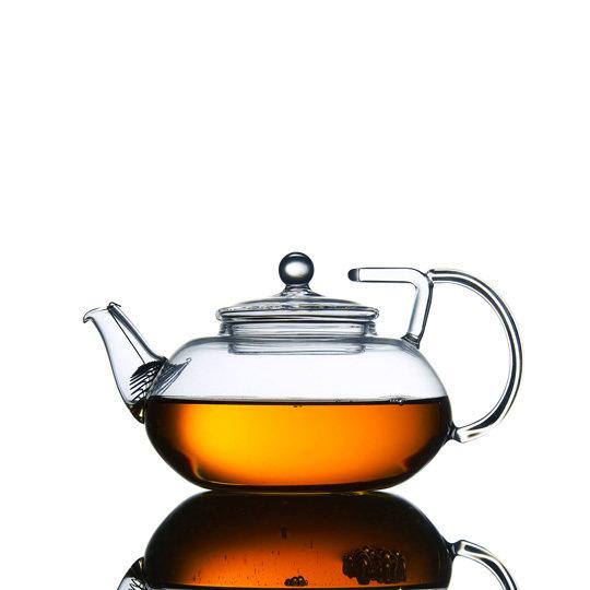 Стеклянный заварочный чайник 450 мл (Заварочные чайники)