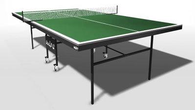 Влагостойкий теннисный стол STV-41, с сеткой