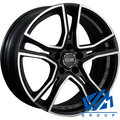 Диски OZ Racing Adrenalina 8x17 5/114.3 ET45 d75 Matt Black Diamond Cut - фото 1